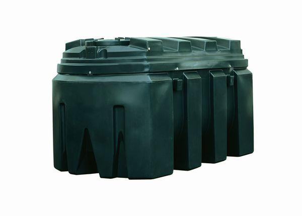 Kingspan Titan/Ecosafe bottom outlet plastic oil tank 1800ltr