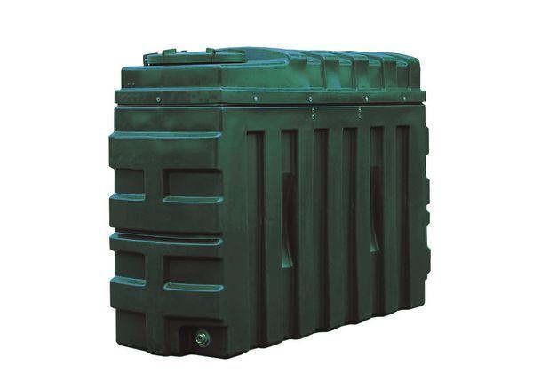 Kingspan Titan/Ecosafe bottom outlet plastic oil tank 1000ltr