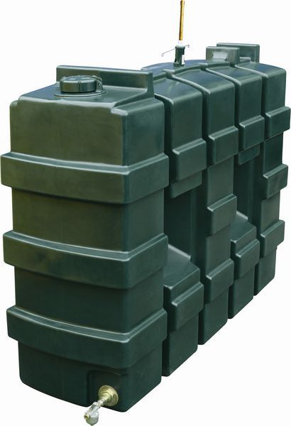 Kingspan Titan superslim rectangular talking oil tank 1000ltr
