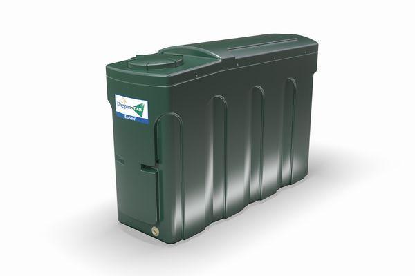 Kingspan Titan bottom outlet slimline oil tank 2000ltr
