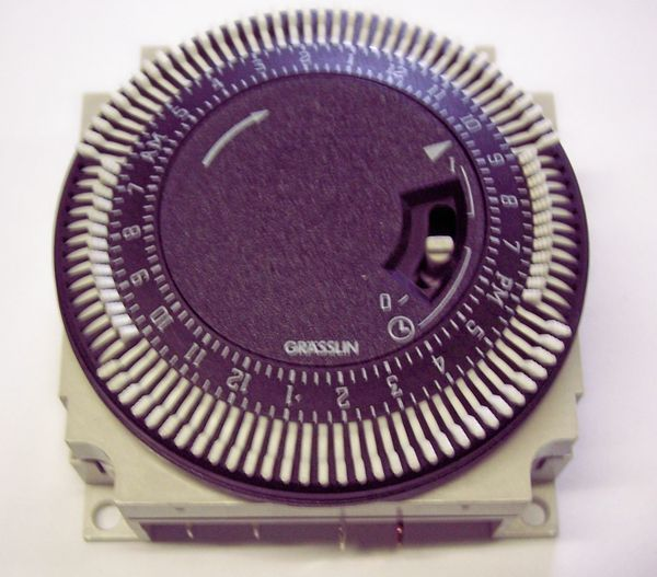 Baxi 247206 electric/mechanical timer kit
