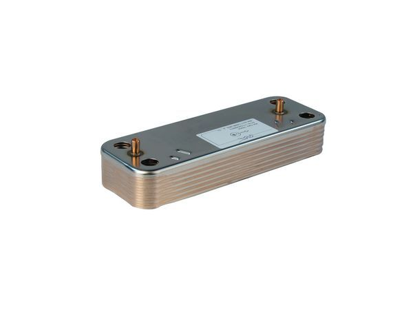 Baxi 248047 heat exchanger-domestic hot water (12 plates)