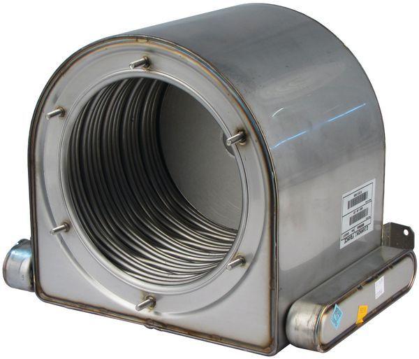 Alpha 1.01741 primary heat exchanger