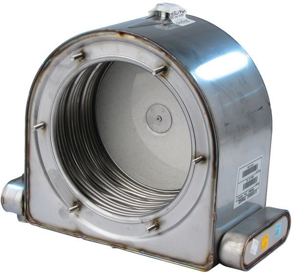 Alpha 1.021521 primary heat exchanger