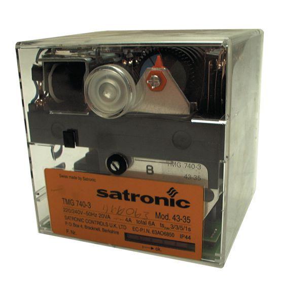 Honeywell Satronic C21358R module timing control box 240v