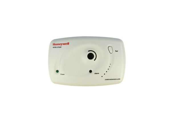 Life1 Honeywell SF340F mains powered CO detector with relay & interconnect