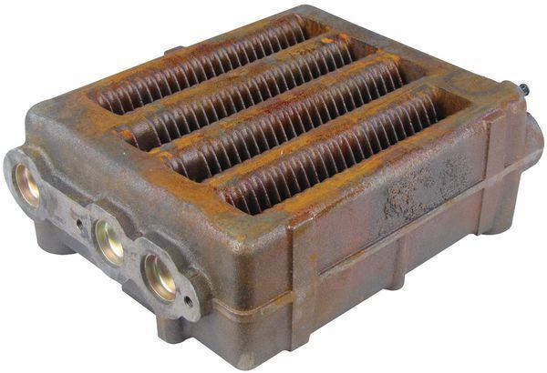 Baxi Potterton 248504 4 way heat exchanger - spares