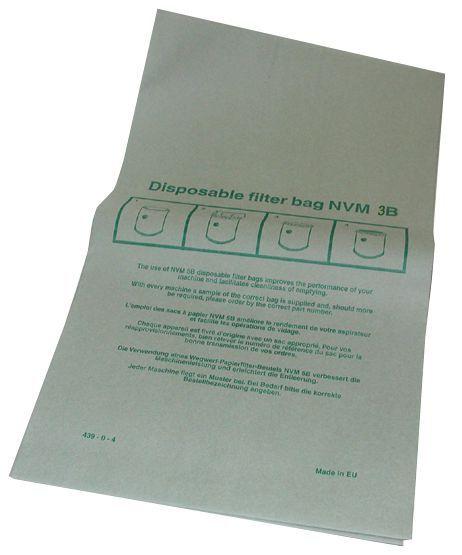 Numatic vacuum bag nvm-3b (pack 10)