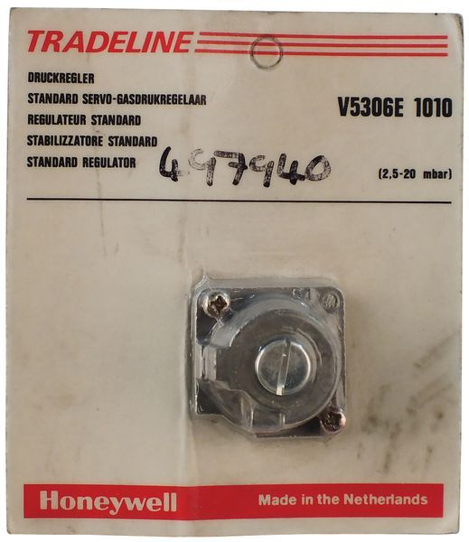 Honeywell H/Well V5306E 1010U Pressure Regulator