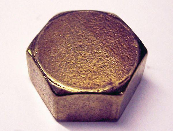 Midland Brass brass blanking cap 1/2 / 15mm