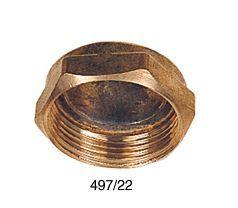 Midbras [deleted] blank capnut 22 Brass