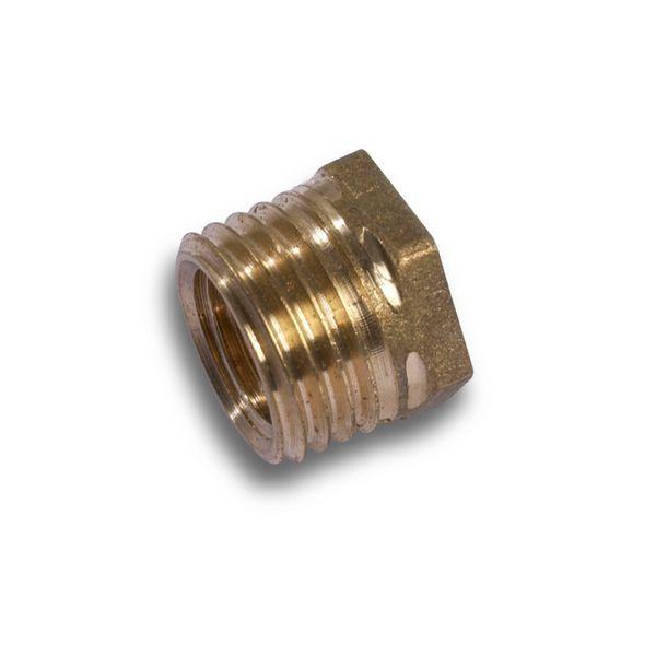 Comap brass hexagonal bush 1.1/4 x 1/2