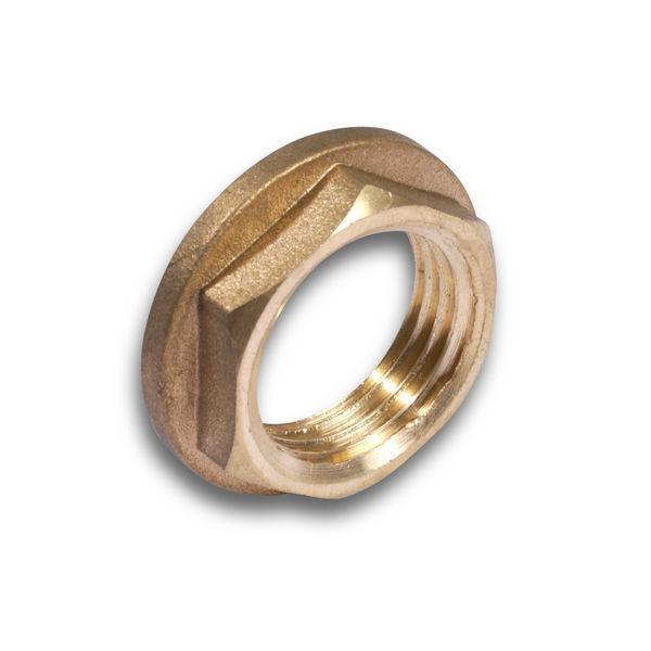 Comap brass flanged backnut 1.1/4