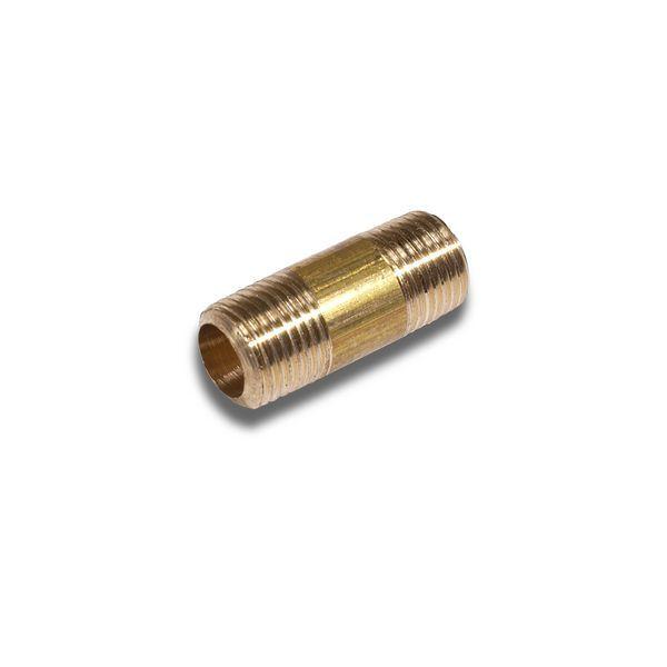 Comap brass barrel nipple 3/8