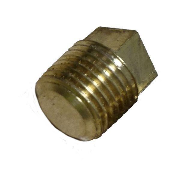 Comap brass square head tapered plug 1/2