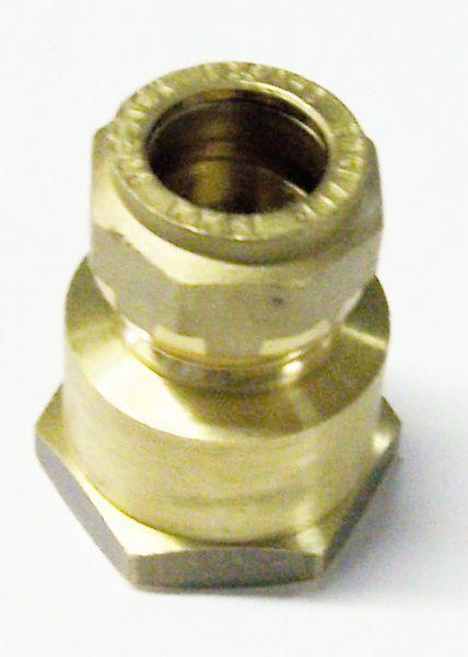 Pegler Yorkshire Prestex 41 female iron connector 15mm x 3/4