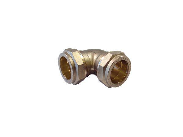 Pegler Yorkshire Prestex 44 90deg elbow 28mm