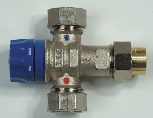 Polybld Polypipe UFH mixing valve 22mm