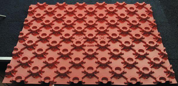 Polybld 1200 x 1000mm under floor heating floor panel per panel