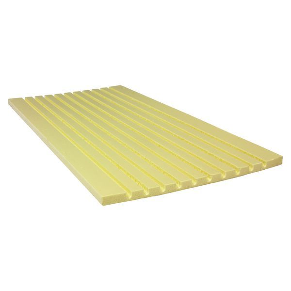 UFH PRE-GROOVED TRANSITION PANEL