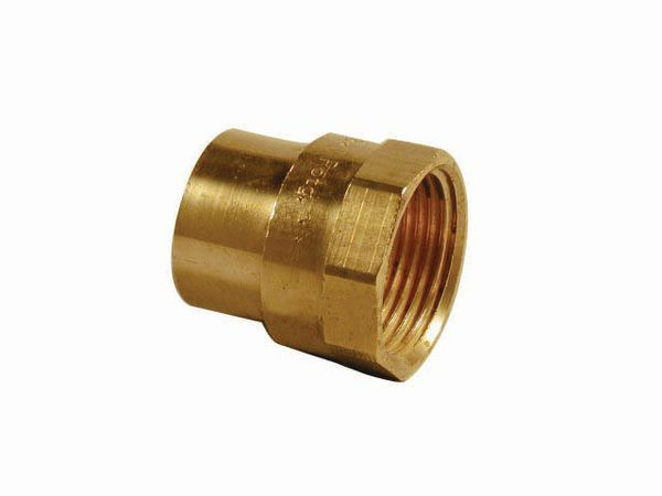Pegler Yorkshire Endex N2 straight female connector 42mm x 1.1/2