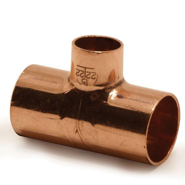 Pegler Yorkshire Endex N25 reduced branch tee 35 x 35 x 15mm