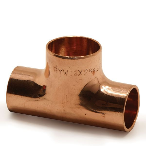Pegler Yorkshire Endex N28 both ends reduced tee 22 x 22 x 28mm