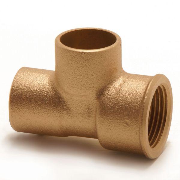 Pegler Yorkshire Endex N29R female iron reducer tee 28mm x 1/2 x 28mm