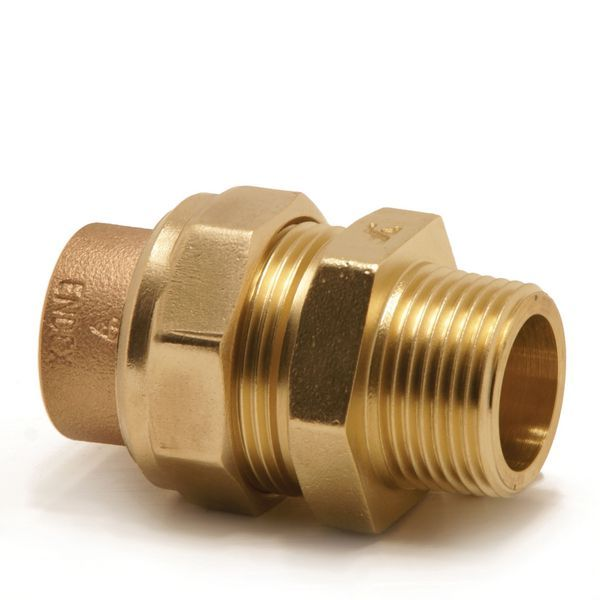 Pegler Yorkshire Endex N69 straight male iron connector 15mm x 1/2