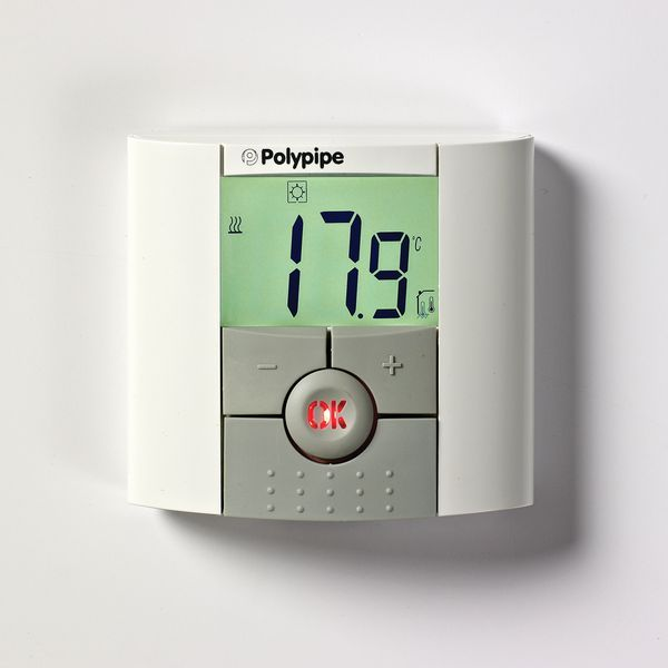 Polybld Polypipe radio frequency digital room thermostat
