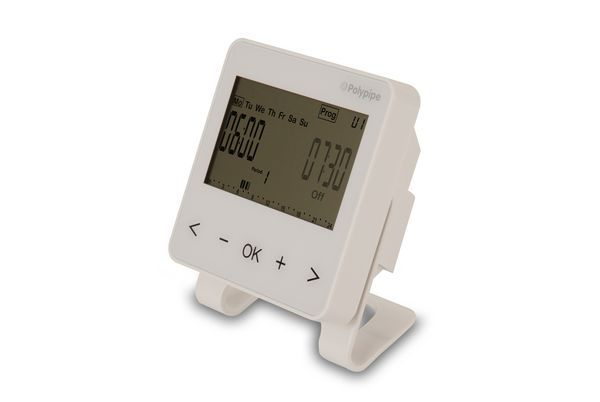 PP UFH WHITE 4 CHANNEL TIMECLOCK RF