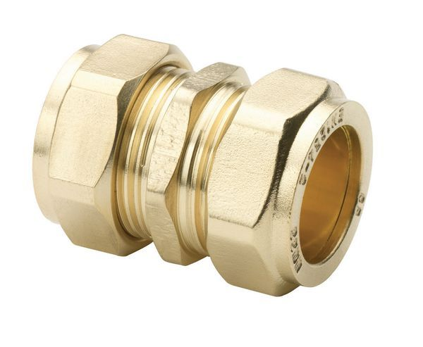 Wolseley Own Brand Center Center Brand compression straight coupling 15mm