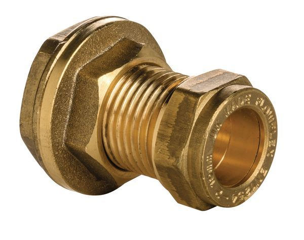 Wolseley Own Brand Center Center Brand compression tank connector 15mm