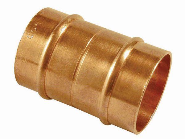 Center Center Brand integral solder ring straight coupling 10mm