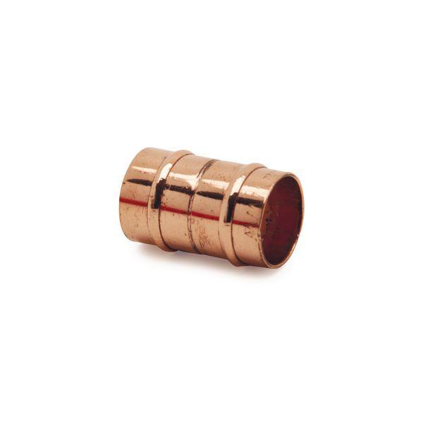 Wolseley Own Brand Center Center Brand integral solder ring straight slip coupling 22mm