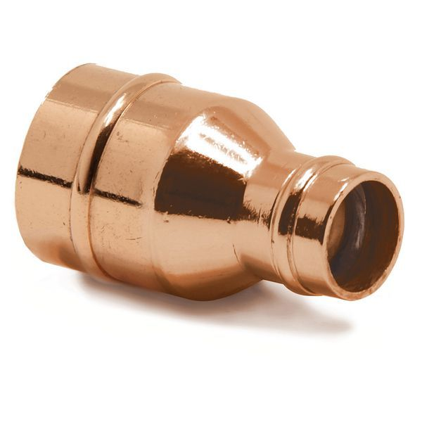 Wolseley Own Brand Center Center Brand integral solder ring reducing coupling 22 x 15mm
