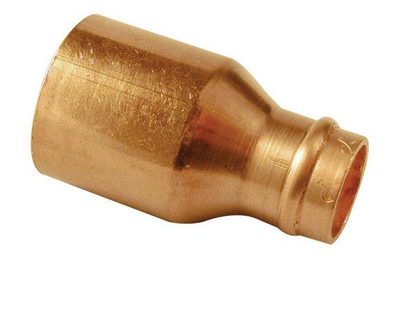 Wolseley Own Brand Center Center Brand integral solder ring reducer 10 x 8mm