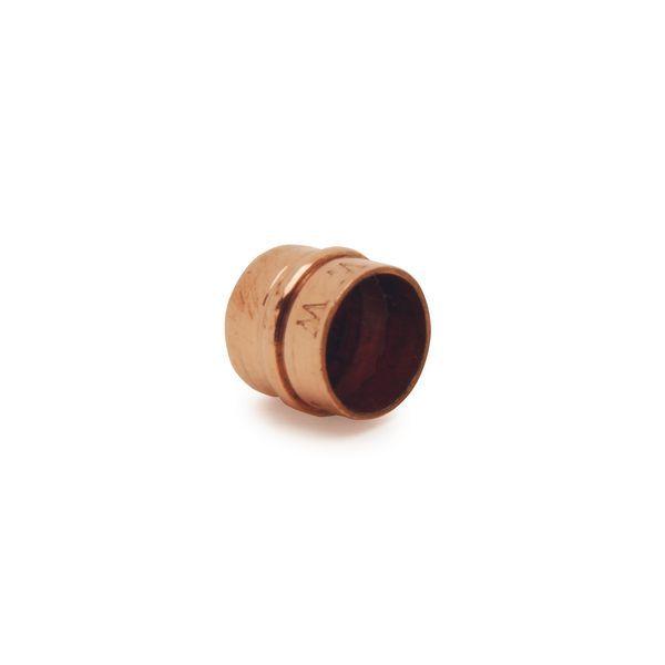 Wolseley Own Brand Center Center Brand integral solder ring stop end 10mm