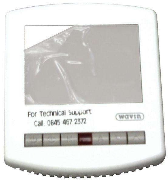 Wavin underfloor heating programmable LCD thermostat 230v