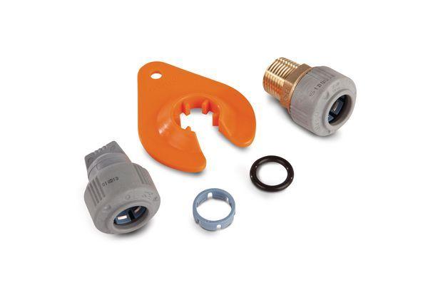 Wavin Underfloor Heating Pressure Test Connection Kit