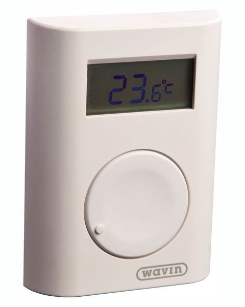 Hep2O UFH wireless programmable thermostat