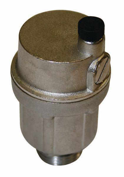 JG Speedfit underfloor heating air vent 1/2 Nickel
