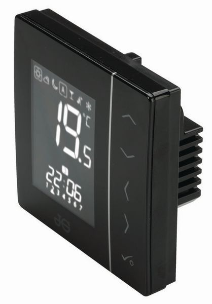 Rwc Uk Ltd JG Underfloor thermostat and hot water timer 230v Black