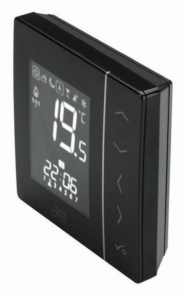 JG Underfloor wireless thermostat battery Black