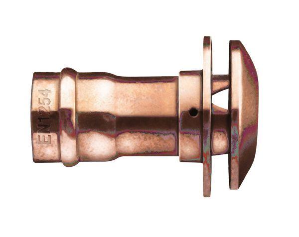 Center Center Brand solder ring pipe vent cowl 15mm