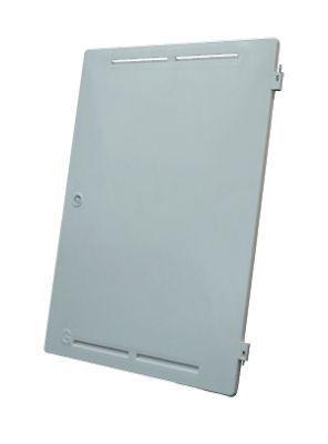 Cubis Mitras door for mitras recessed gas M-box White