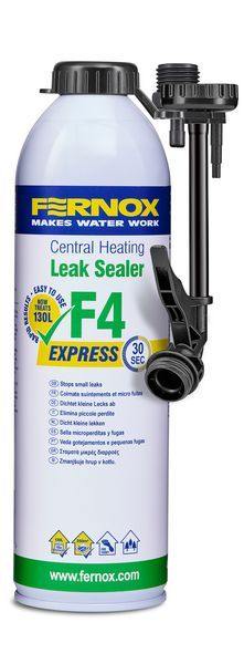 Alpha Fernox Express F4 central heating leak sealer 400ml