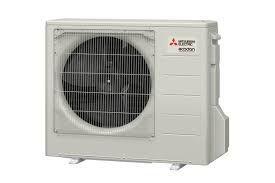 Mitsubishi Ecodan monobloc air source heat pump with thermo store 200ltr