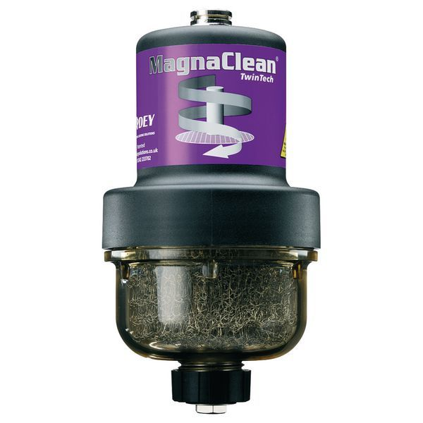 Adey MagnaClean Twintech filter and bleed valve 22mm