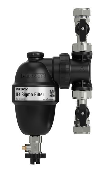 Fernox Sigma TF1 filter with valves 22mm